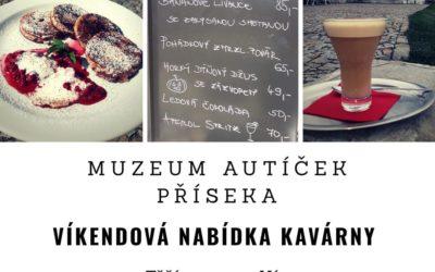 Podzimní nabídka kavárny